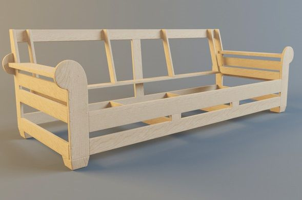 Sofa frame | making furniture | Pinterest