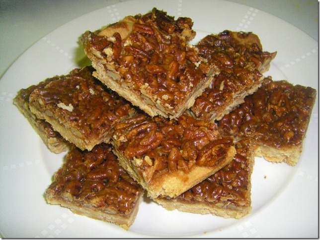 Pecan Pie Squares | Recipes | Pinterest