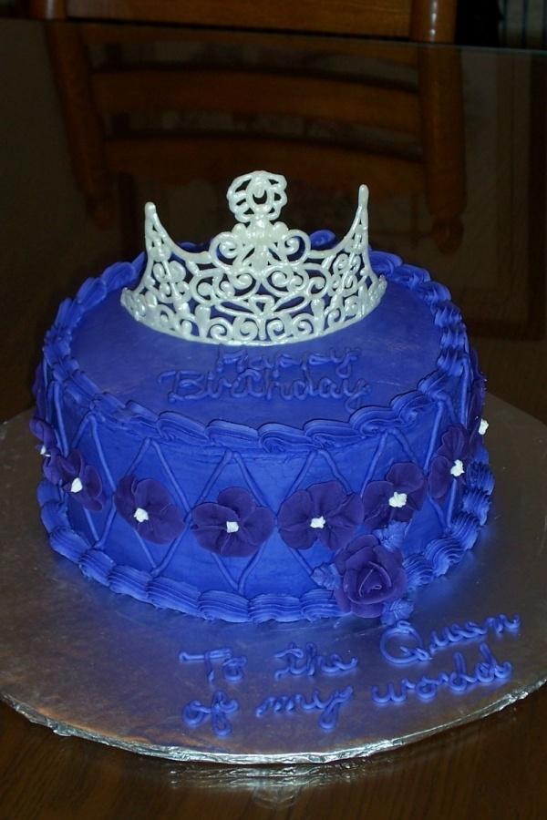 Cake Decoration Ideas Pinterest : Pretty Blue Cake Cake Decorating ideas Pinterest