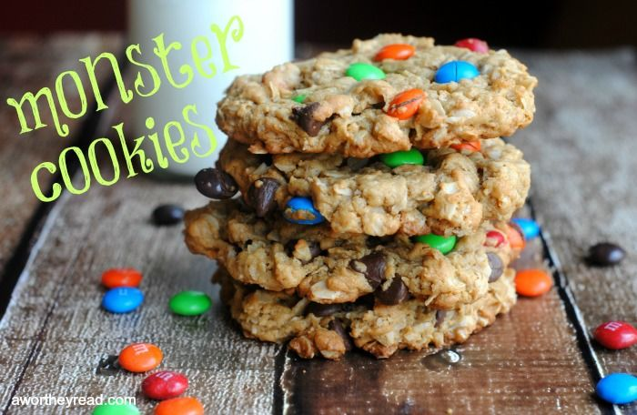 Monster Cookies Recipe — Dishmaps