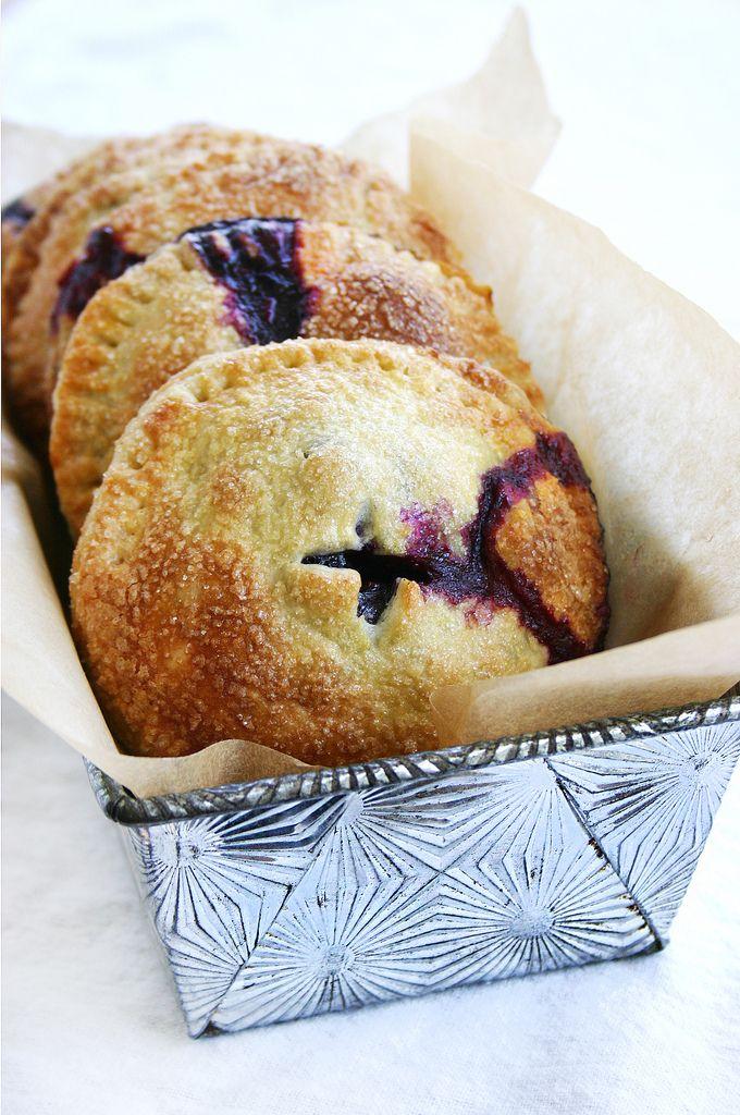 Blueberry Hand Pies | Food | Pinterest