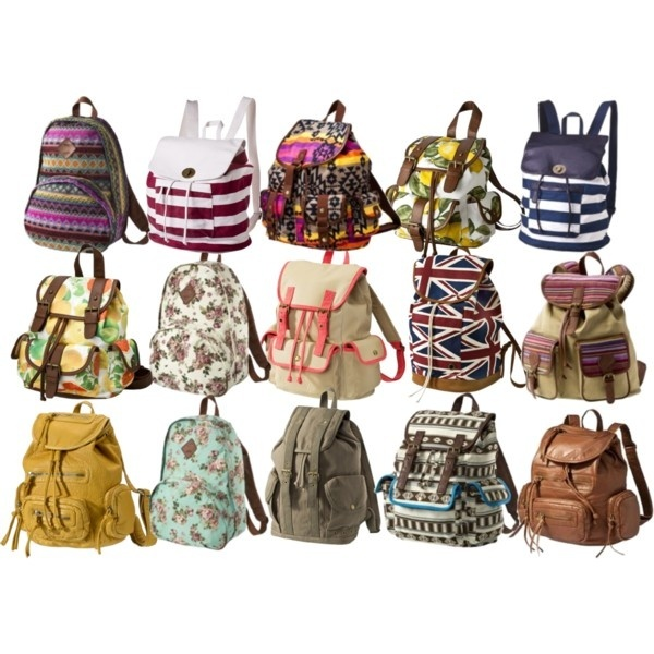 Backpacks All At Target! I like the one in the top right corner.