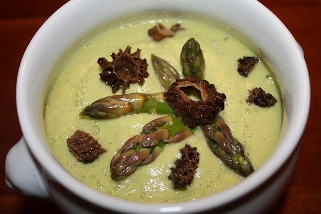 cold asparagus soup | Food for the soul | Pinterest