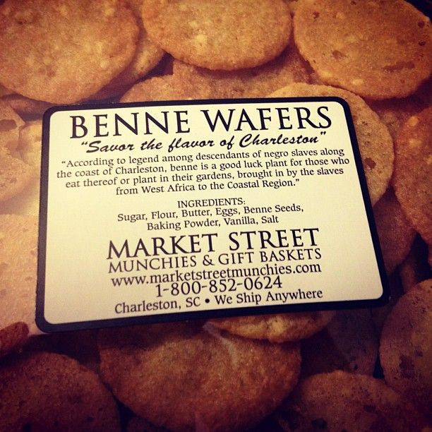 Benne Wafers | All Things Southern | Pinterest