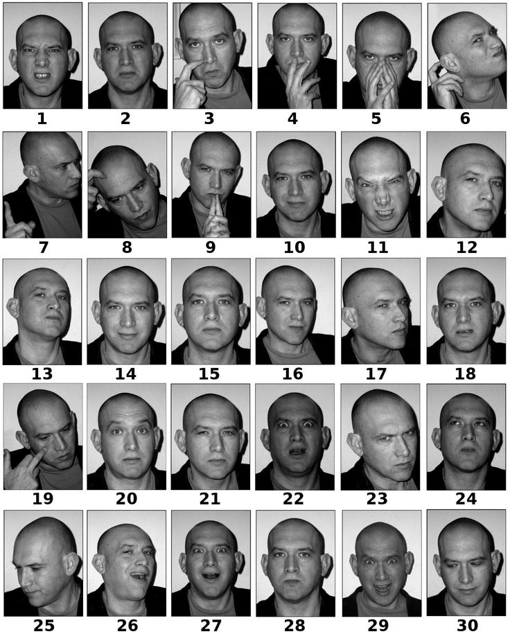 Drama y expresiones faciales