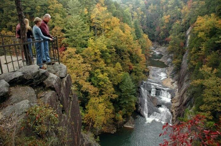 Tallulah Gorge North Ga Explore Georgia Pinterest