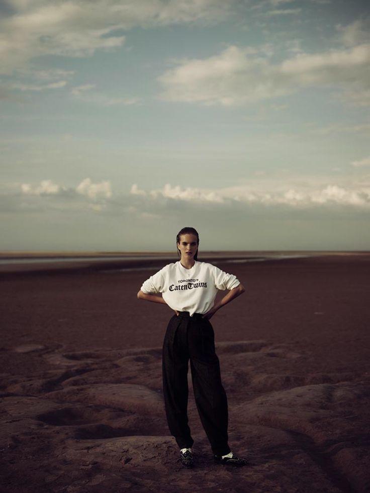 Mirte Maas, Vogue Netherlands Shoot, menswear