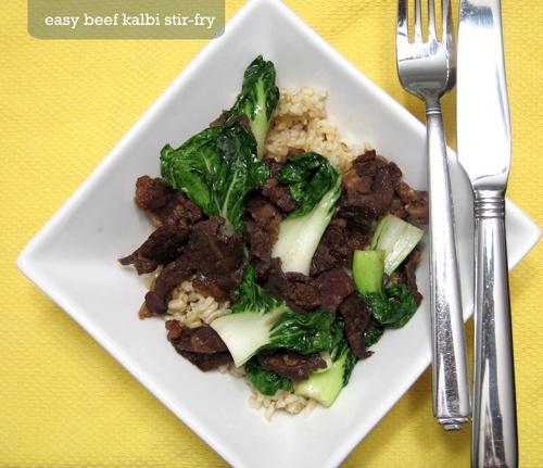 Easy beef kalbi stir fry | Food | Pinterest