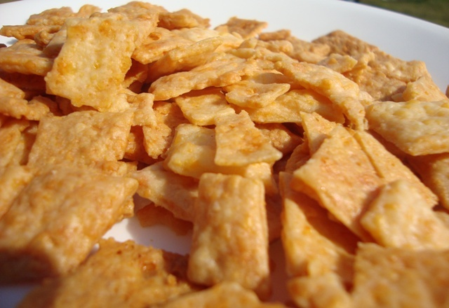 homemade cheese crackers | Let's eat | Pinterest