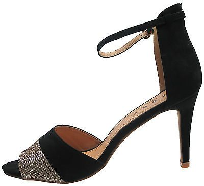 Ankle Strap Party Sandals Stiletto High Heel Women Shoes Sizes UK 3-8