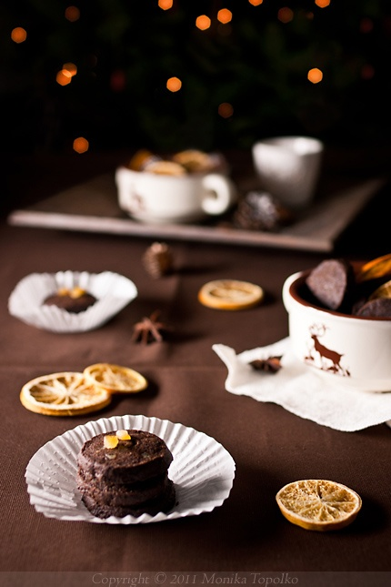 Chocolate Orange Shortbread Cookies | Food Inspiration | Pinterest