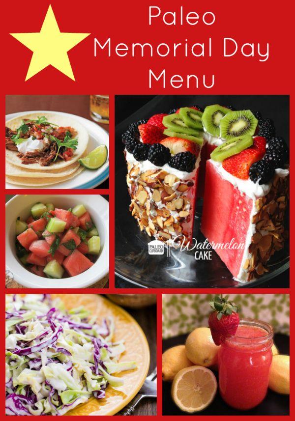 memorial day menu pinterest