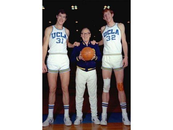 Swen Nater, John Wooden & Bill Walton in 1972