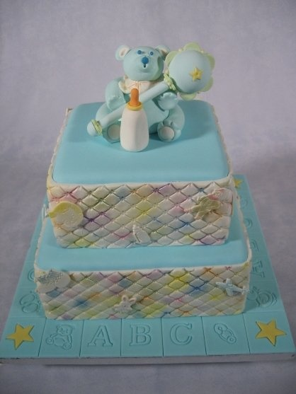 Baby boy shower cake. FIRE and ICING Cakes, Cookies, Confections ...