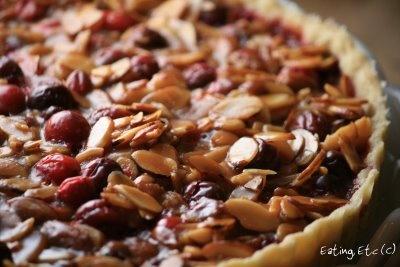 Cranberry, Caramel & Almond Tart | COOK RESORSES | Pinterest