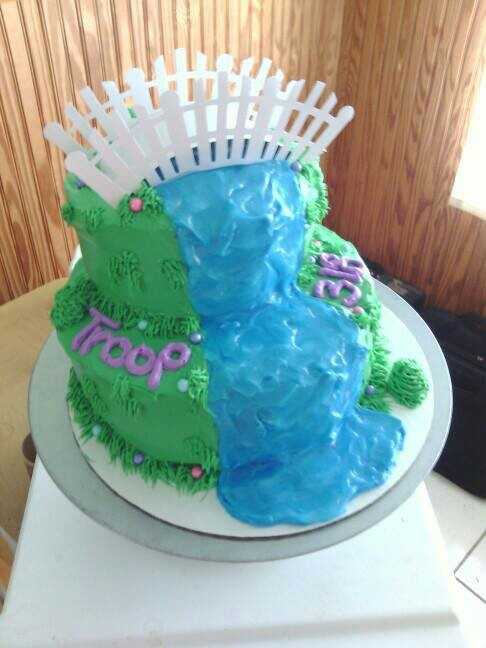 Cake Ideas For Girl Scouts : Daisy Girl Scout Cake Ideas 80903 Girl Scouts