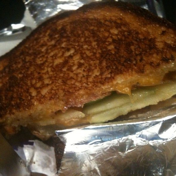 ... Jack Grilled Cheese Sandwich: Cheddar, Apple, Bacon, and Maple Syrup