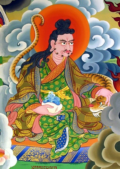 Palgyi Yeshe de Sogpo. Listed among the eight heart-students although Nyak Jnyanakumara was his root guru; may also  have studied with Ma Rinchen Chok. Originally a blacksmith, through the practice of Vajrakilaya, he mastered all beasts, subduing even tigers with mudras. He lived outdoors in forests along running streams and practiced on the peaks of snowy mountains, training many disciples until he passed away.
