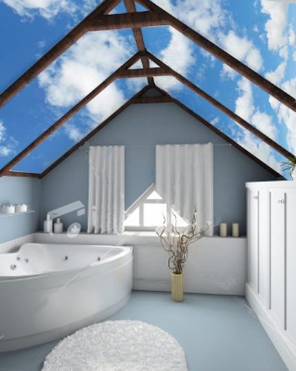 Adesivo de parede bath pinterest Unique bathrooms