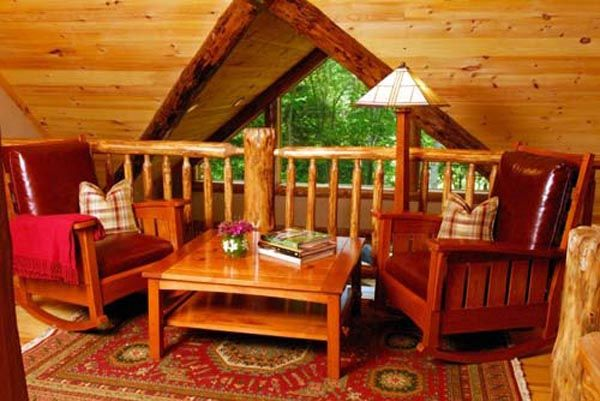 decorating ideas for log cabin home6 log cabin