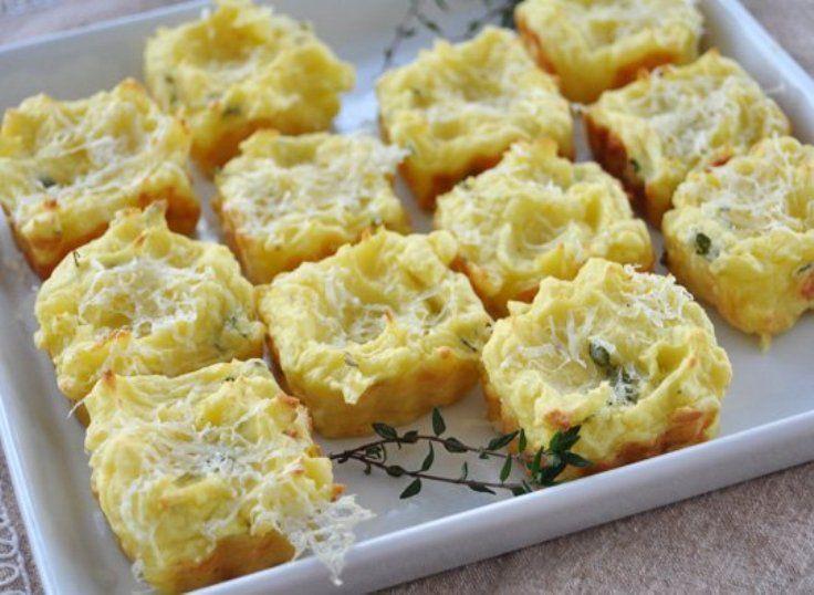 Mashed Potato Puffs | Thanksgiving | Pinterest