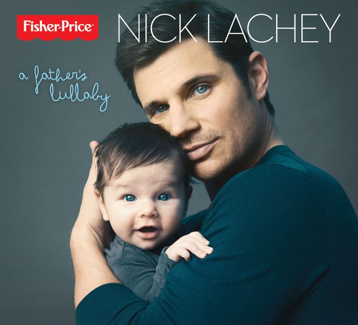 "Modern Family :: 98 Degrees Member Nick Lachey Partners with Fisher-Price to Create a Music CD Titled, ""A Father's Lullaby"" (2013) Inspired by His Son Camden, Who Graces the Cover Respectively"