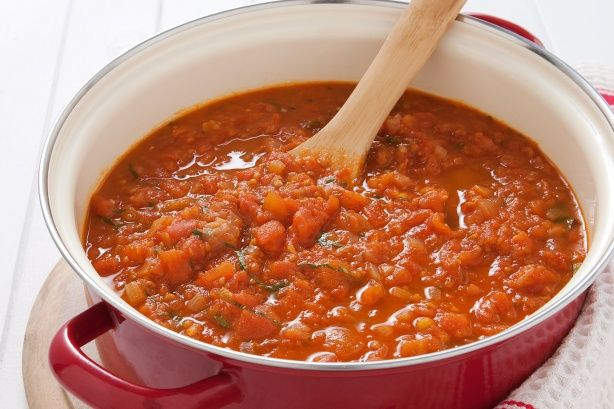 Fresh Pasta sauce home made. You can't go pasta fresh tomato sauce for ...