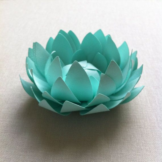 Paper lotus flowers make me happy pinterest for How to make a lotus with paper