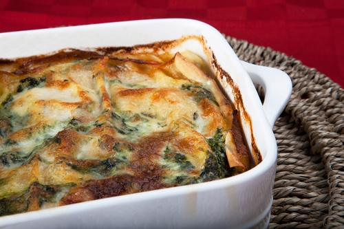 Spinach And Prosciutto Lasagna Recipes — Dishmaps