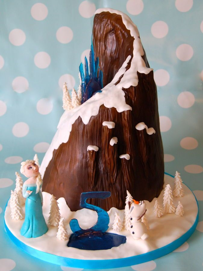 Frozen Mountain Cake
