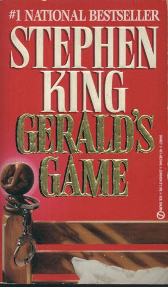 Gerald's Game by Stephen King (1992, Hardcover) BUY 1 GET 1 AT 50% OFF