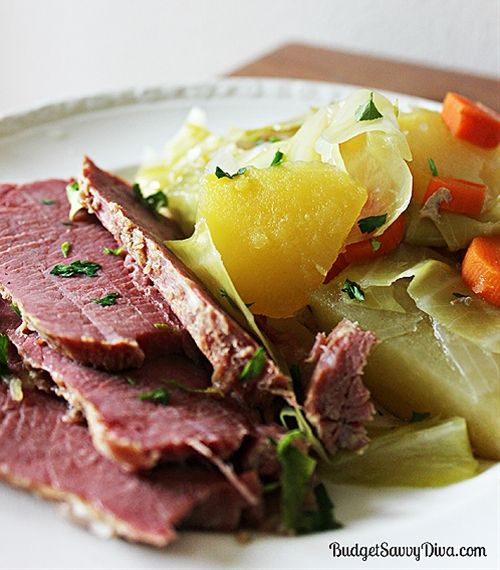 Corned Beef and Cabbage | Cabbage Patch | Pinterest