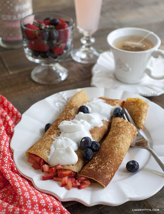 ... to try for a Spring Brunch. Gluten-Free Crepe Recipe | Lia Griffith