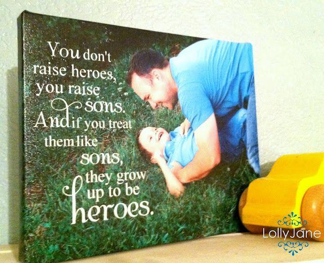 #DIY #Canvas #FathersDay