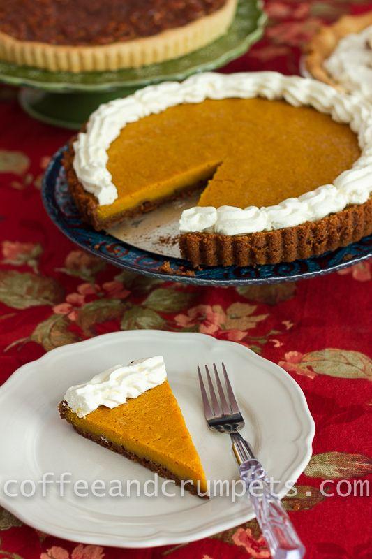 Pumpkin Mascarpone Cheesecake Tart @Nhu Burgoyne and Crumpets