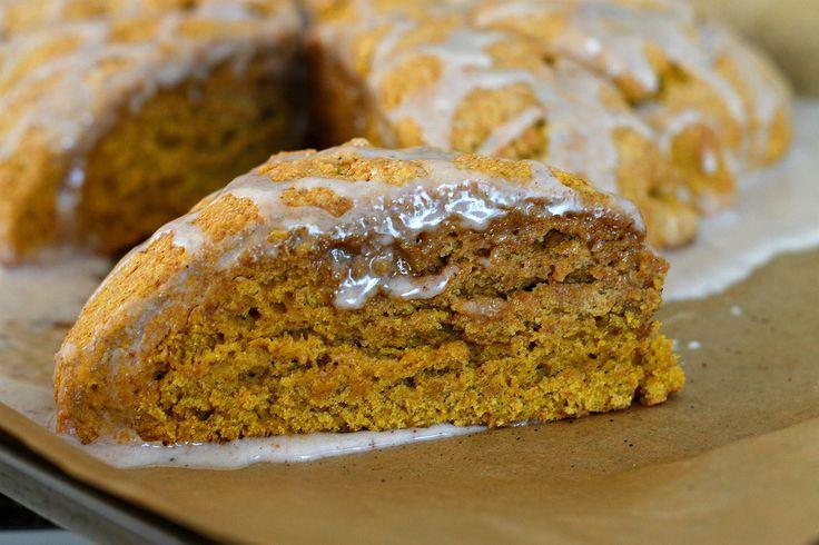Ginger Pumpkin Scones | Holiday Recipes | Pinterest