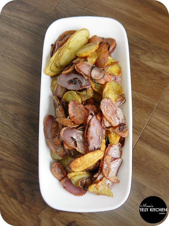 Roasted Fingerling Potatoes with Shallots & Rosemary #SecretRecipeClu ...