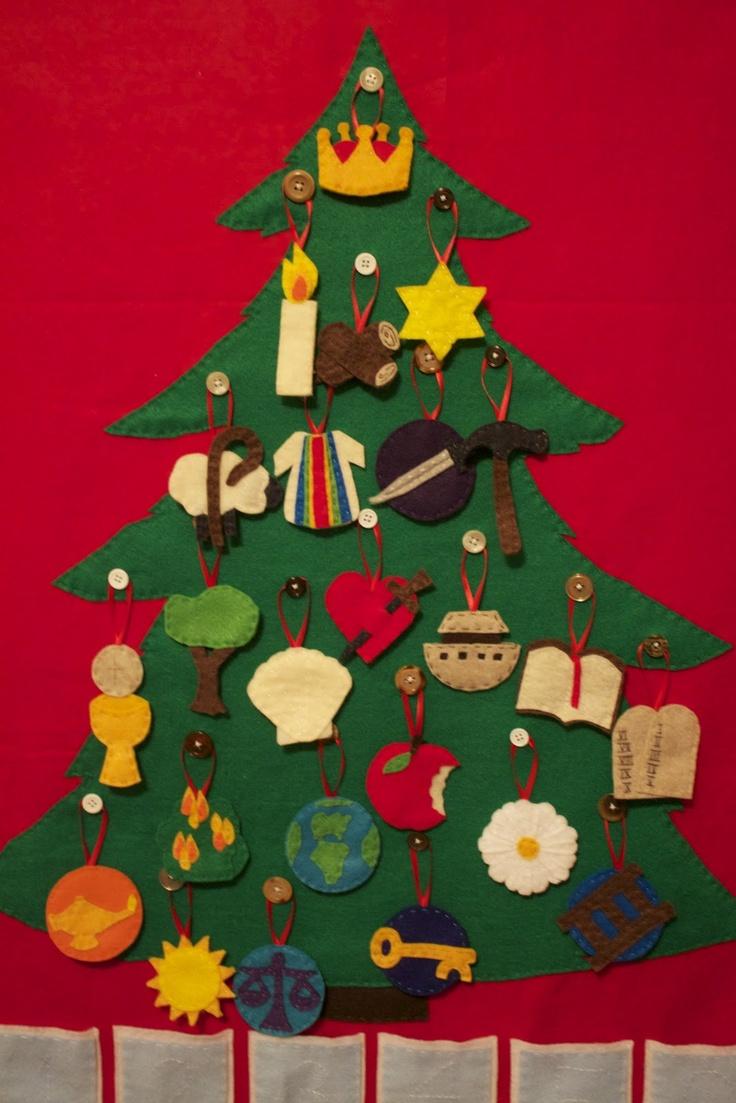 Diy Jesse Tree Ornaments Diy jesse tree advent calendar · found on ...
