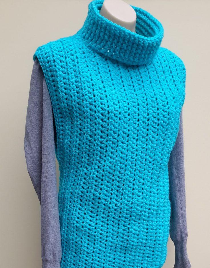 Easy Sweater Vest Crochet Tutorial Crochet.....Clothing ...