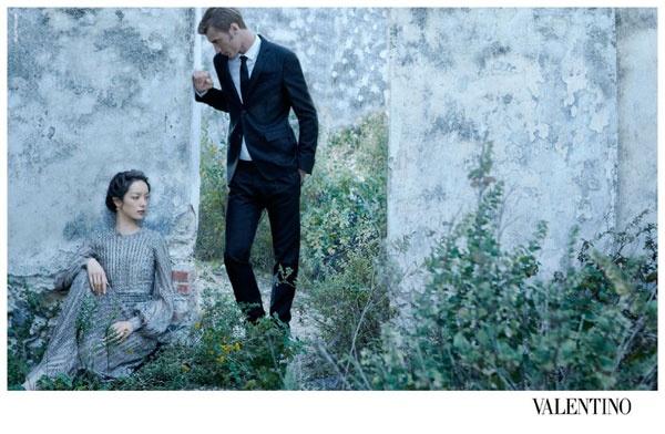Para Valentino. Campaña primavera 2012