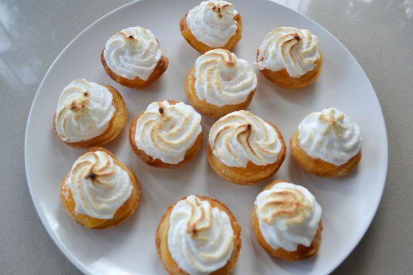 mini lemon meringue pies   desserts   Pinterest