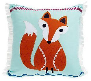 Susan Graver Home 16 x 16 Decorative Fox Pillow