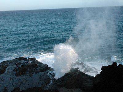 Blowhole, Halona, Oahu
