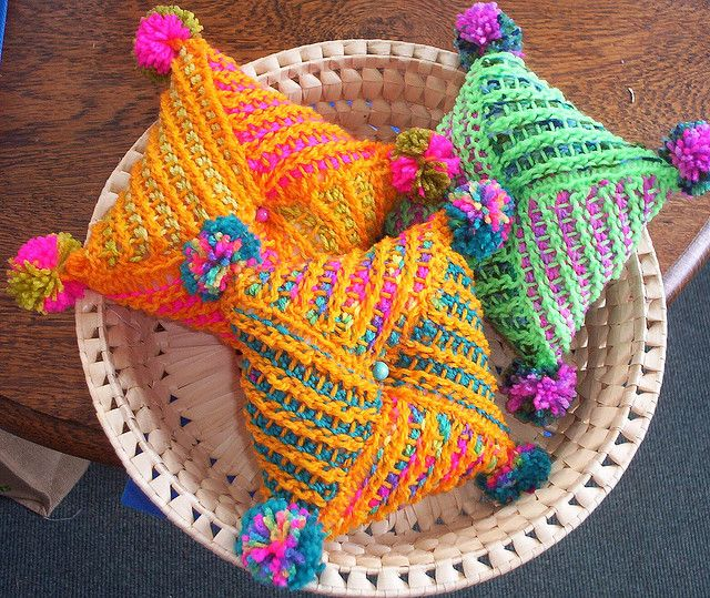 Crochet Afghan Patterns N Hook : Tunisian. Cro-Hook. Pincushions by baileyella, via Flickr ...