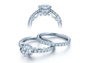 http://www.diamondmansion.com/verragio-u-prong-side-profile-designer-diamond-engagement-ring/?option=cpiflgdiu Make this a pear with different style pave and it is perfect