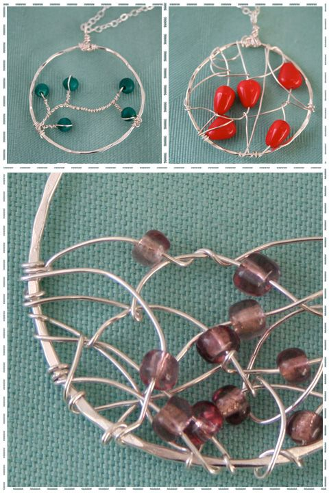 ... made out of metal so i can t wear them metal wire jewelry tutorial