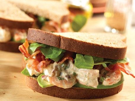 Shrimp Salad Sandwiches