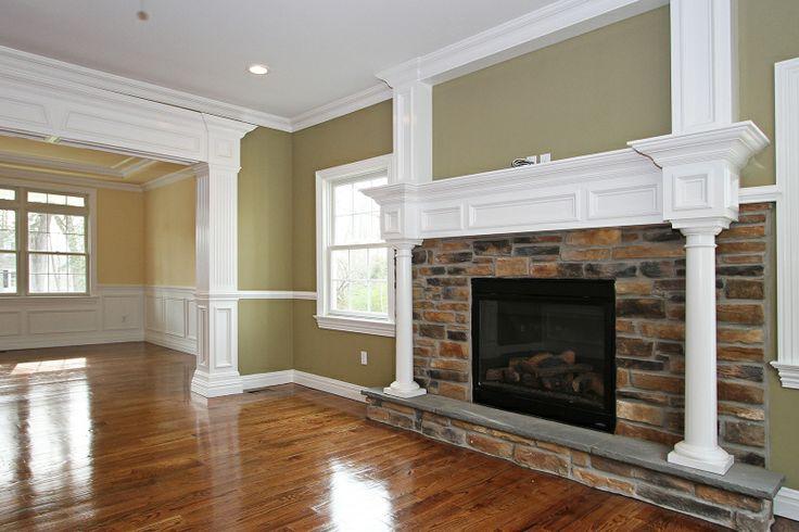Indoor fireplace design ideas fireplace design ideas for Indoor fireplace plans