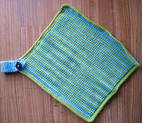 Tunisian Crochet Dishcloth Free Pattern : Pin by Esther Jackson on Crochet-Tunisian Pinterest