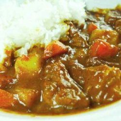 ... spicy and a tad sweeter than traditional curry japanese style curry